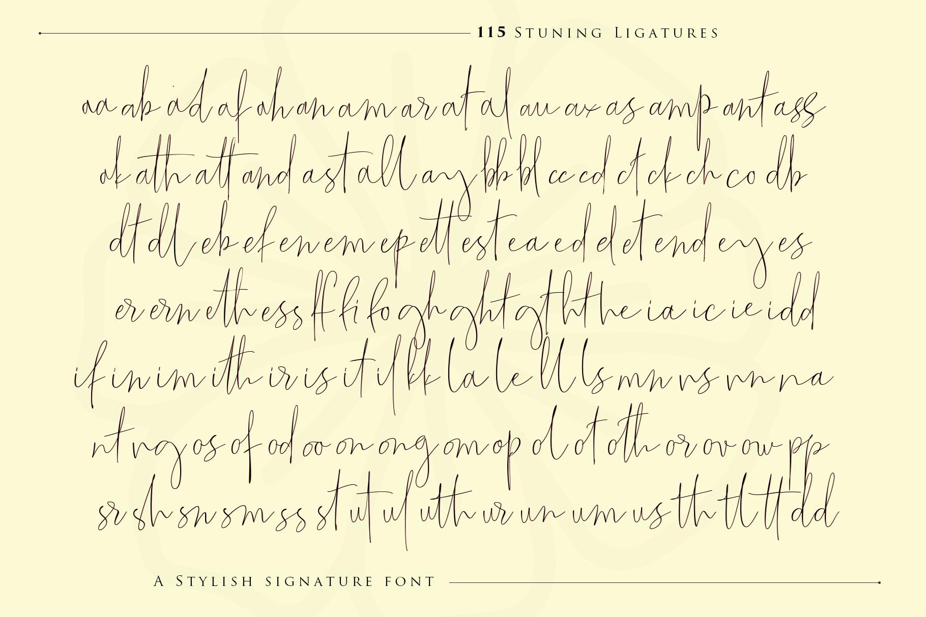 The Fantastic Signature example image 11