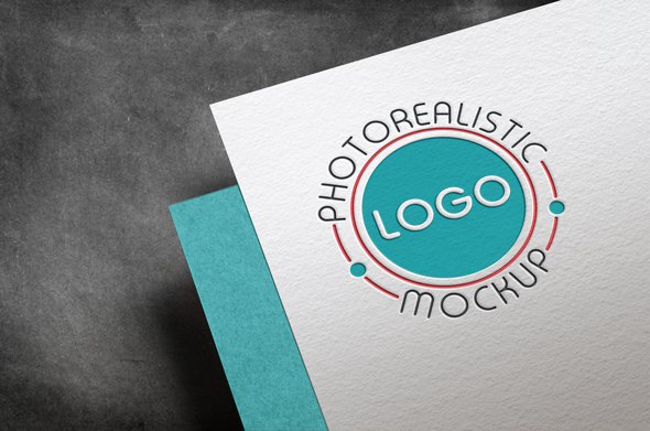 Logo Mock-Up Paper Edition example image 5