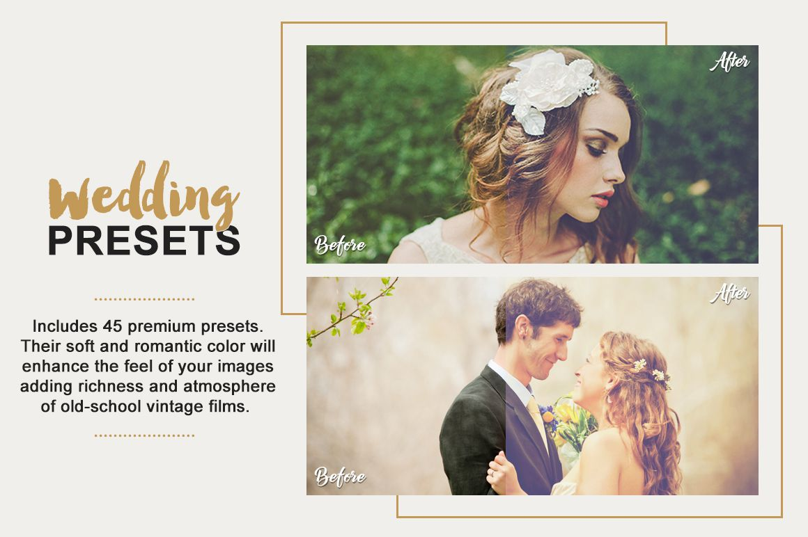 Wedding Lightroom Presets Collection example image 3