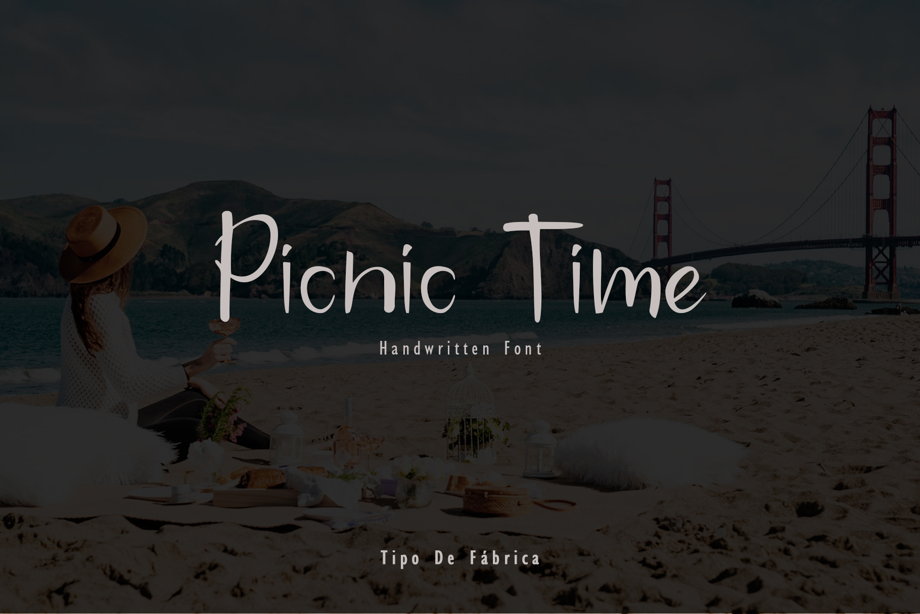 Picnic Time Handwritten Font example image 2