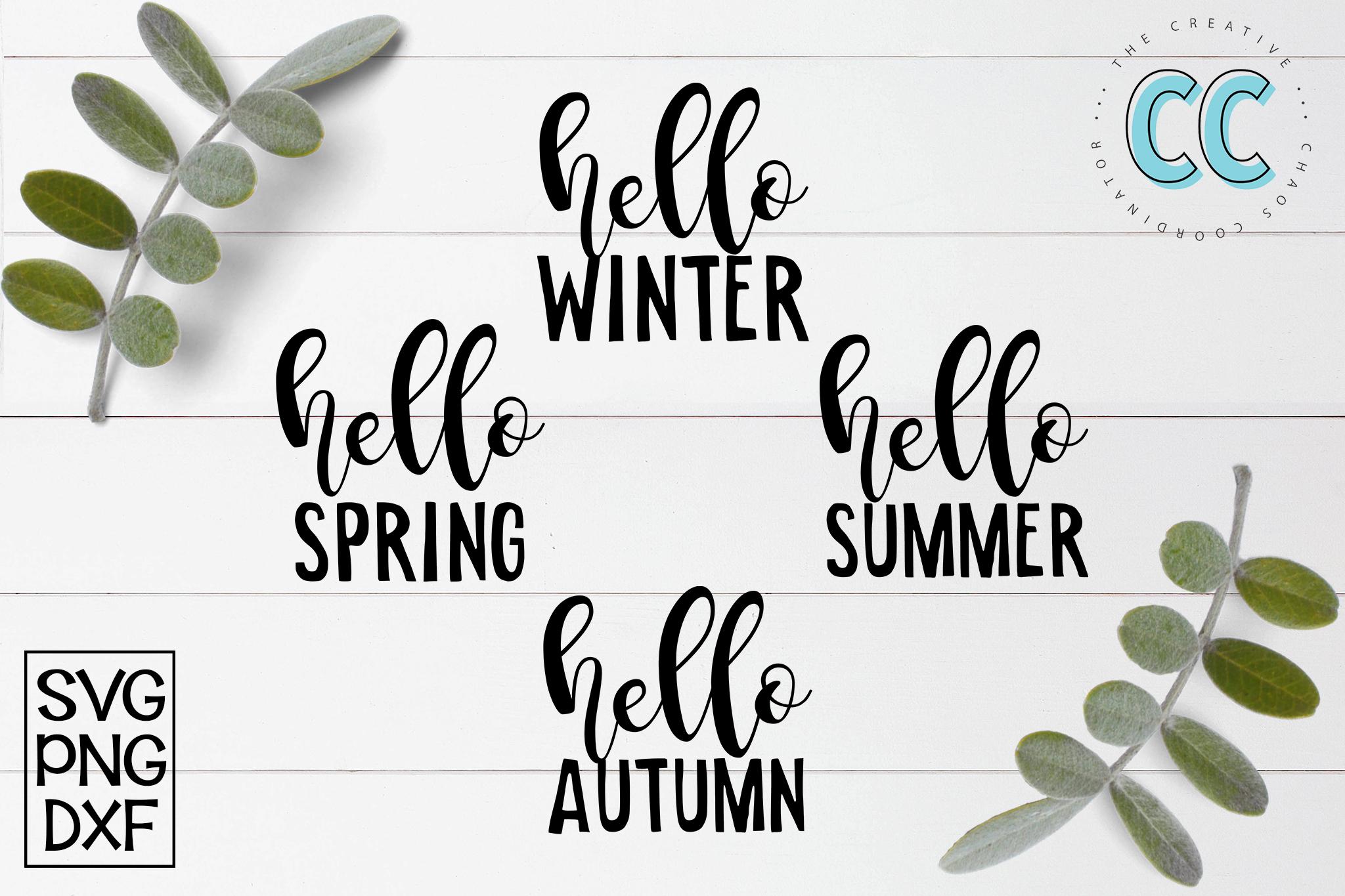 Hello Seasons example image 1