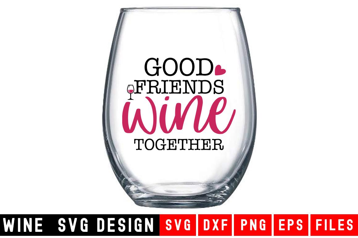 Wine SVG Bundle  10 Designs Wine SVG example image 5