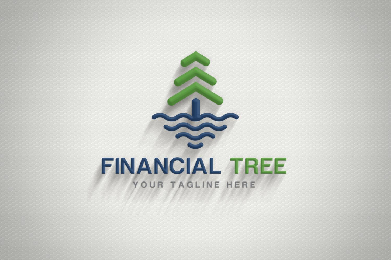 Financial Tree Logo example image 1
