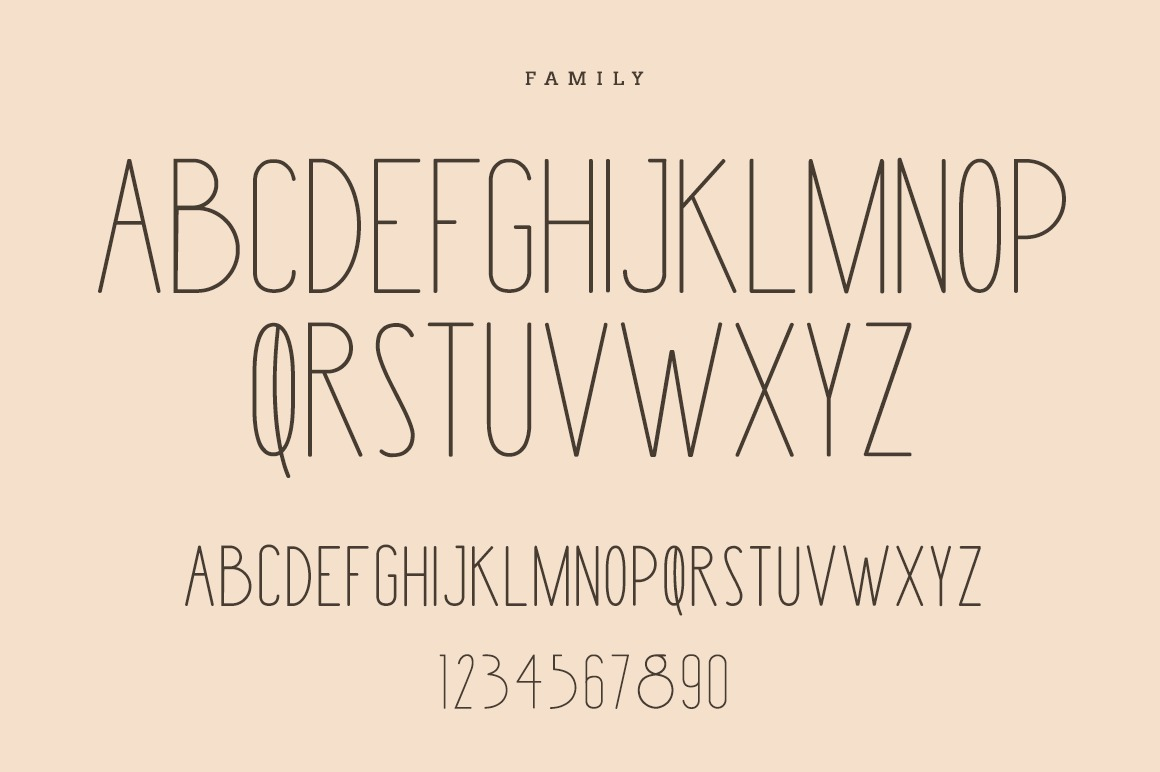 Merry Light Typeface example image 4