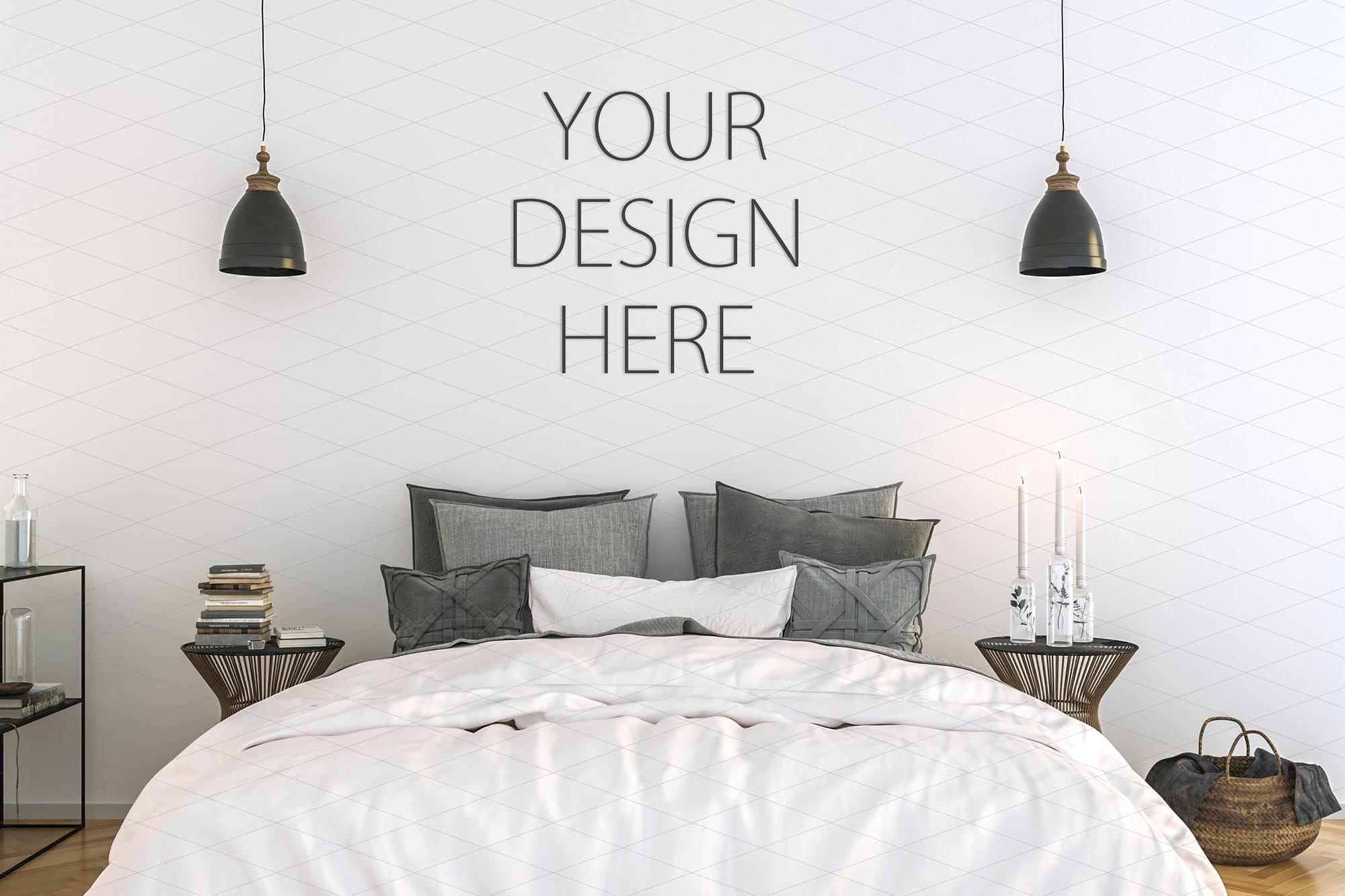 Interior mockup - artwork background - kitchen example image 1
