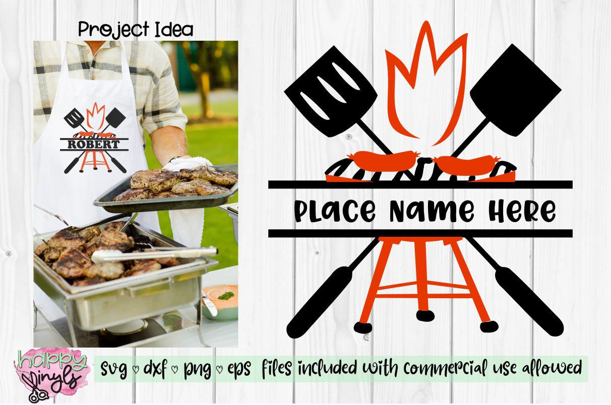 BBQ Design to Personalize- A Summer SVG example image 1