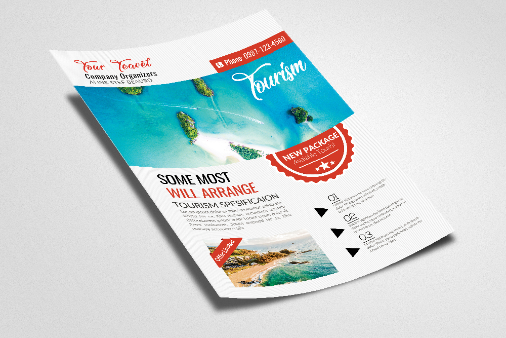 Tour & Travel Flyer Template example image 2