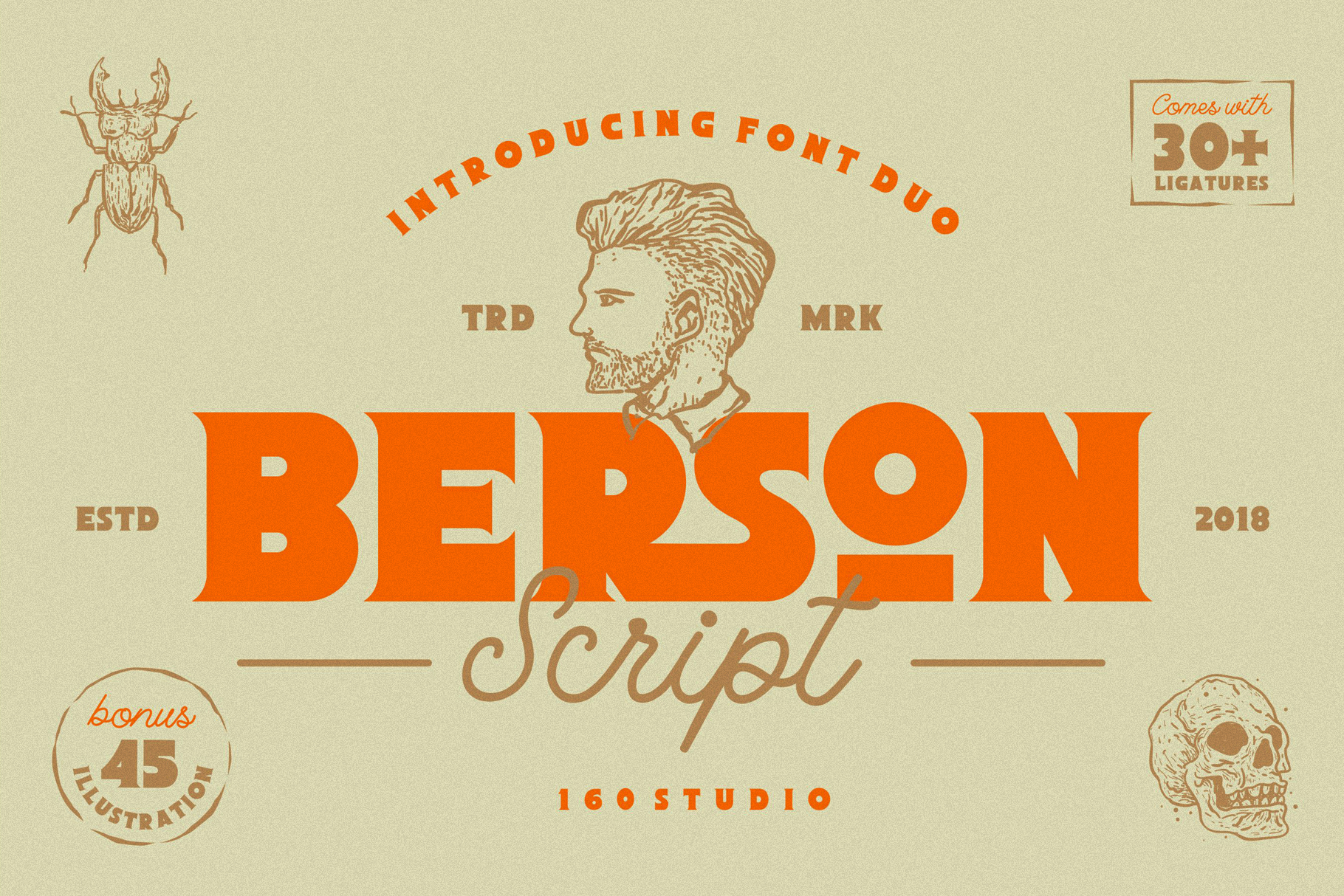 Berson Font Duo example image 1