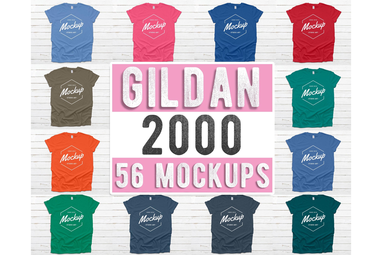 1000 Huge Bundle Shirt Mockup, Bella Canvas, Gildan Mockups example image 6
