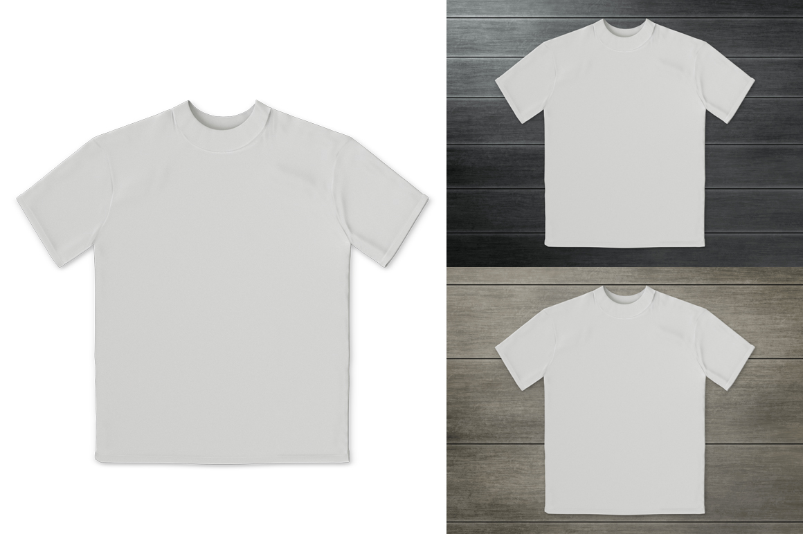 Kids t-shirt mockup. Product mockup. example image 5