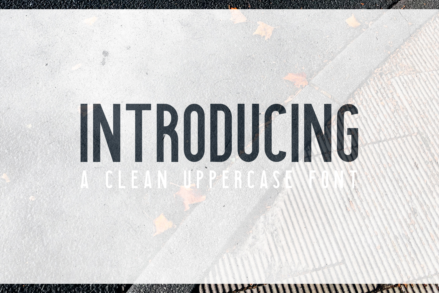 Searocks | A clean condensed font example image 2