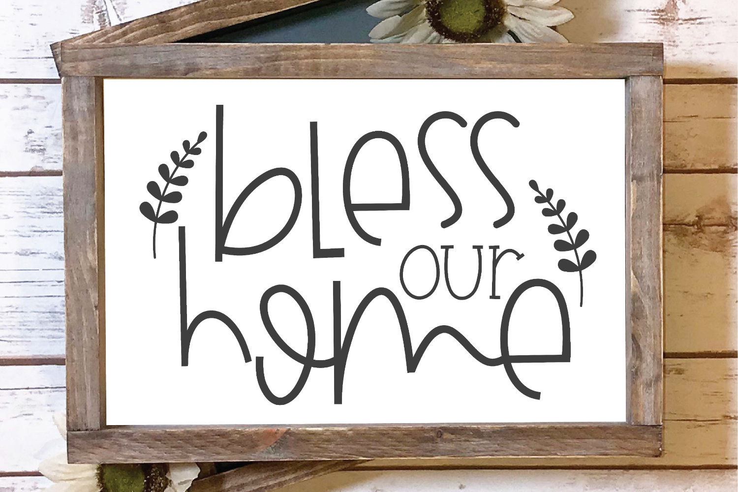 Welcome - Home - Family - Bless - Doormat Bundle SVG example image 5