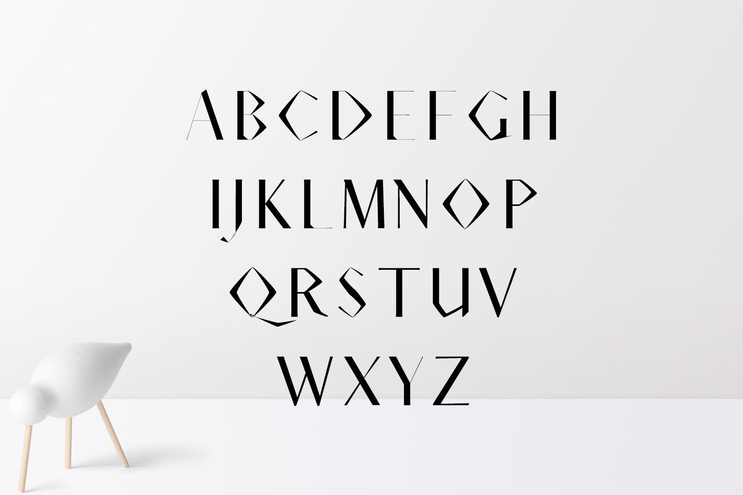 Acacio Serif 2 Font Family Pack example image 2