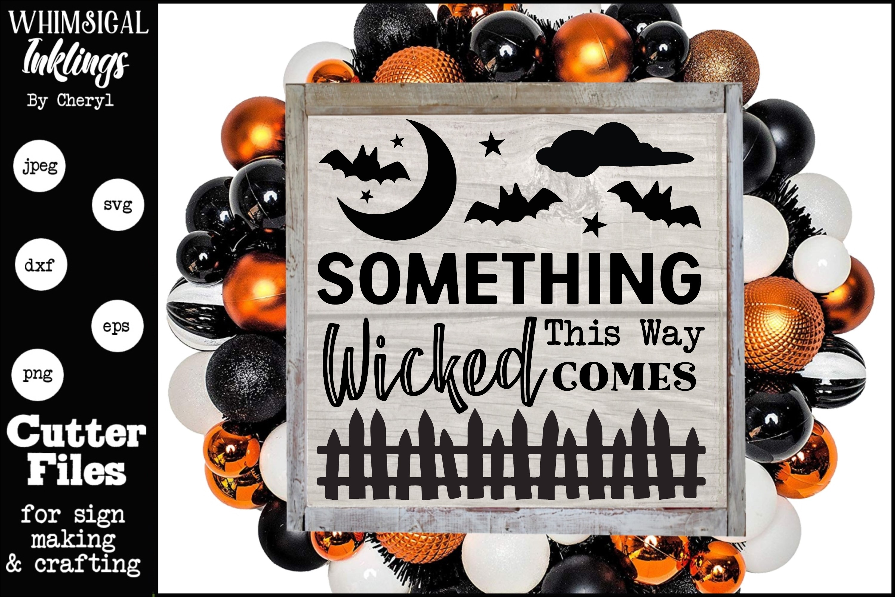 Something Wicked This Way Comes SVG example image 1
