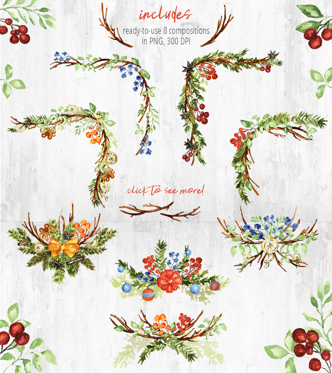 Christmas Wreath Creator example image 9