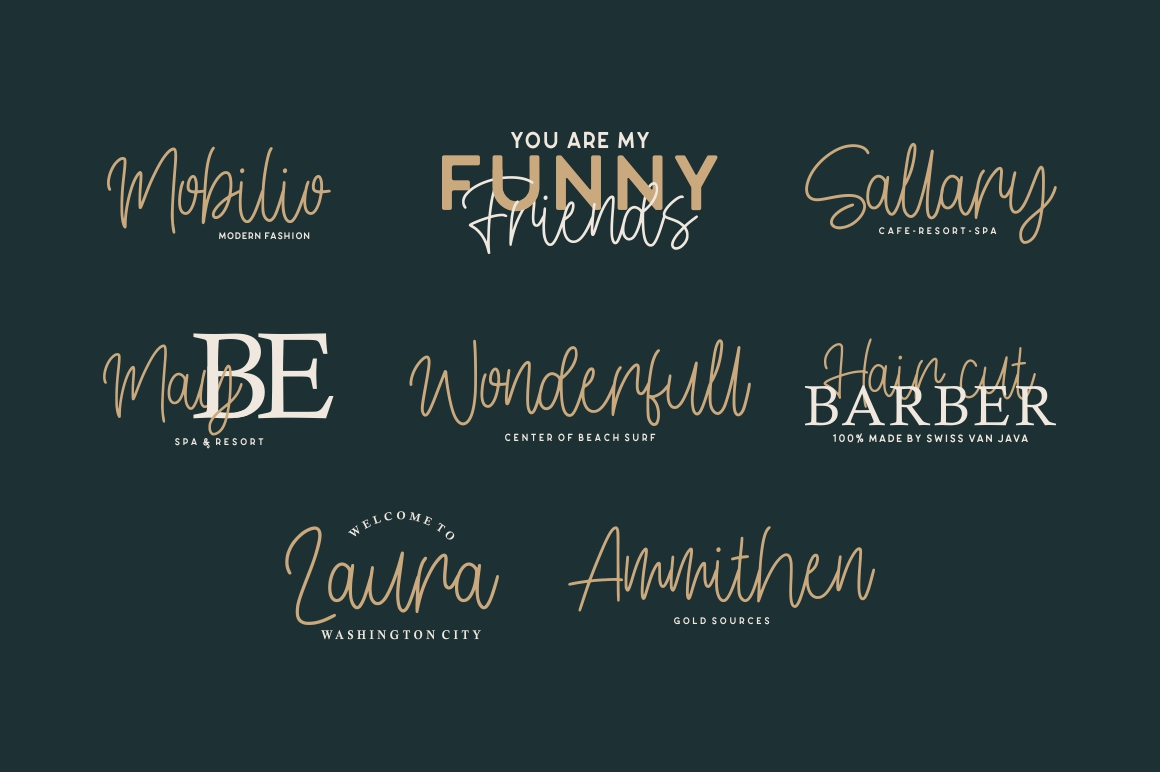 Conelly - Handwritten Font example image 6