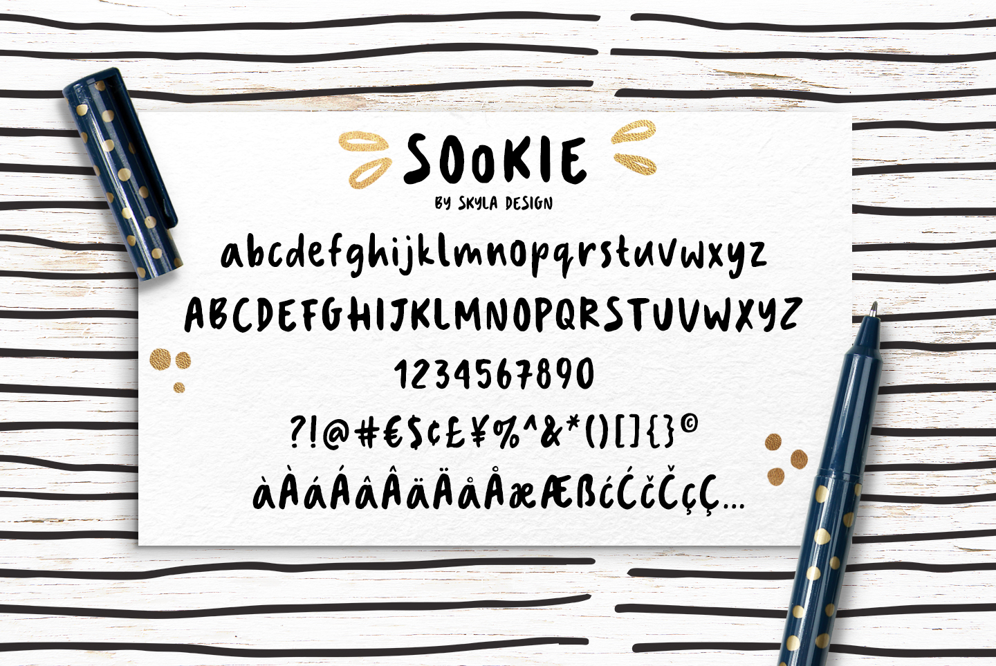 Cute handwritten font, Sookie example image 7