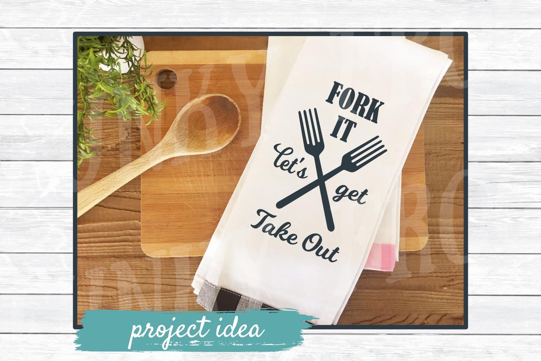 Kitchen Art Design Bundle 1- SVG Cut Files for Crafter example image 2