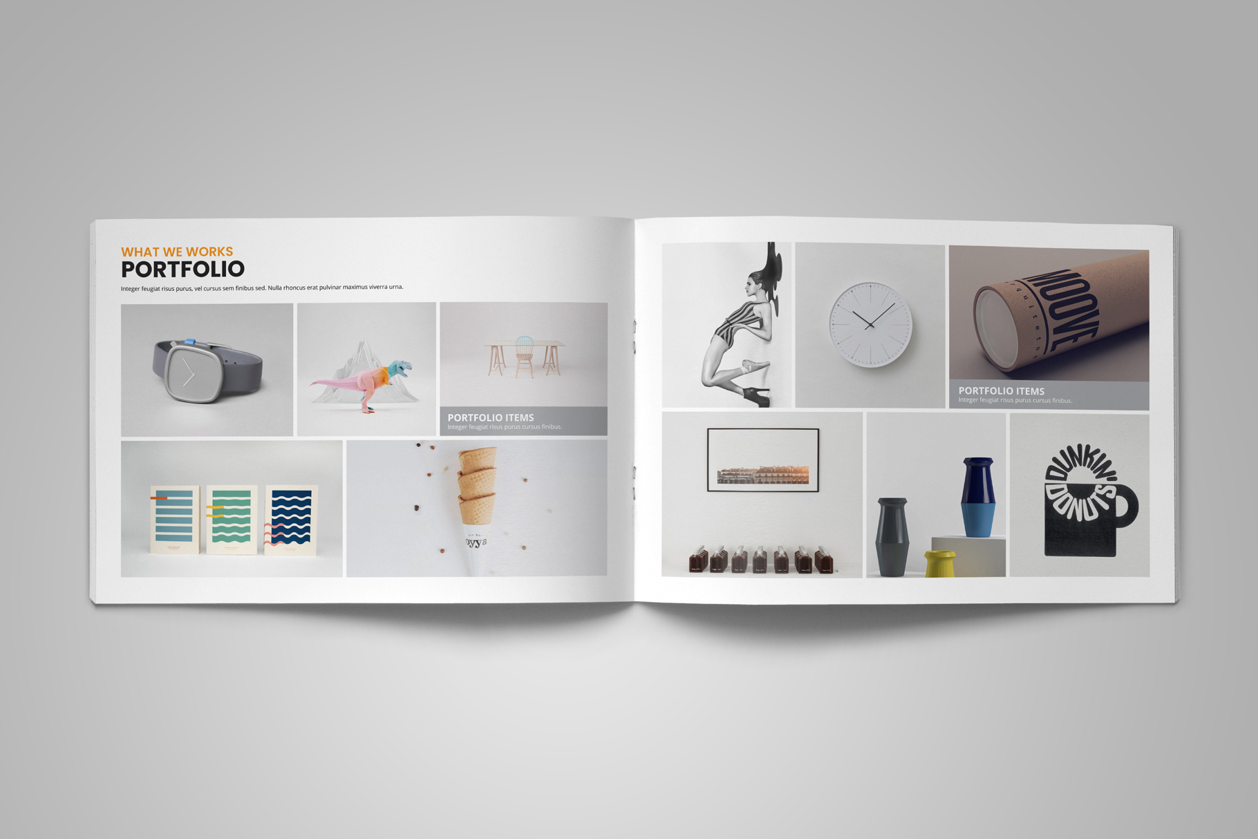 Digital Agency Portfolio Brochure v2 example image 6