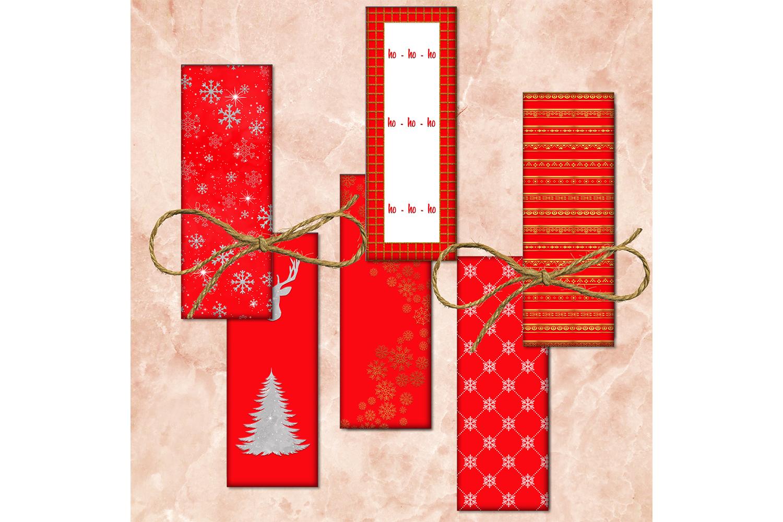 Red Images, Christmas Tree, Digital Printable, Digital Image example image 1