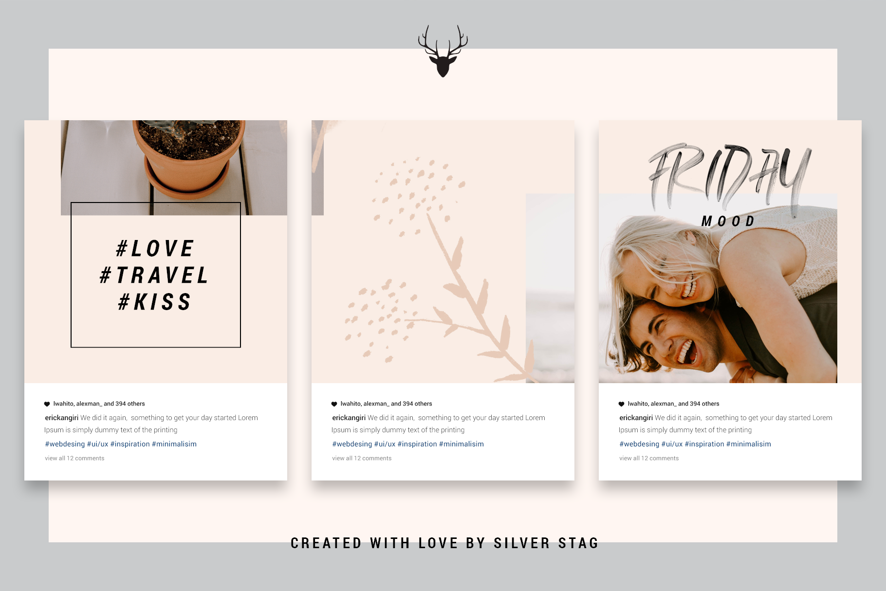 InstaGrid 5.0 - Creative & Modern Instagram Puzzle Template example image 9
