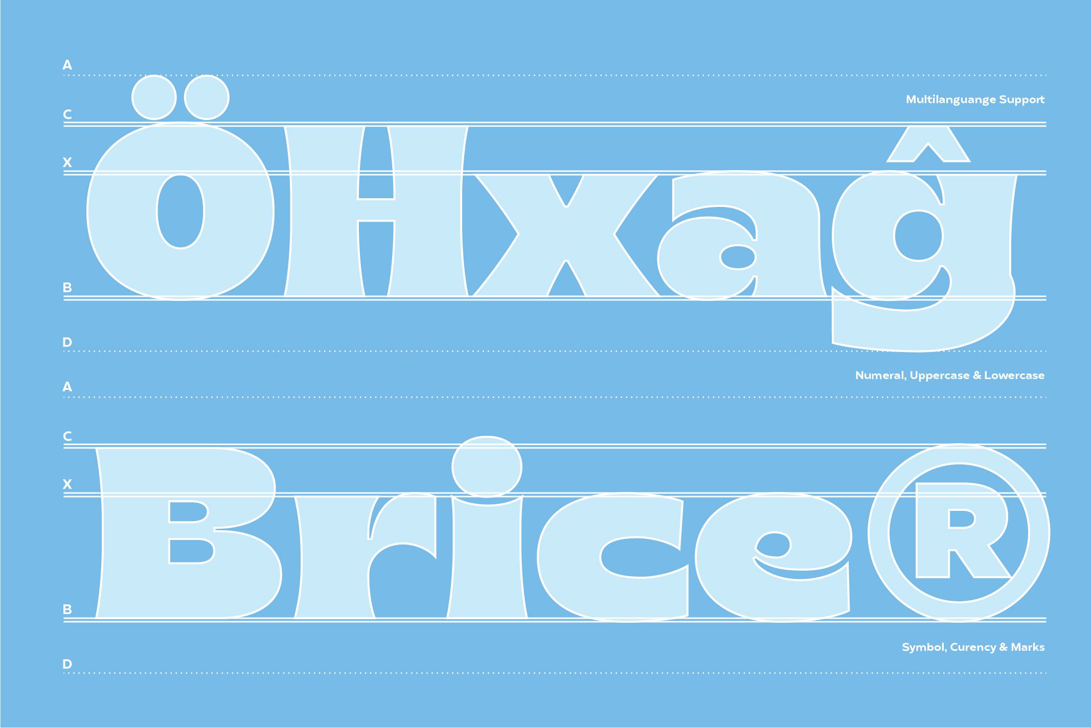 Brice Font Family example image 4