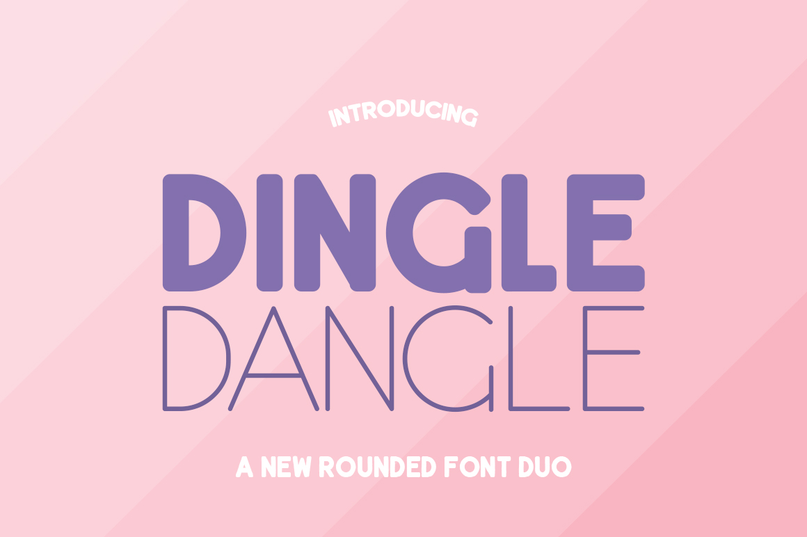 Dingle Dangle Font Duo example image 1