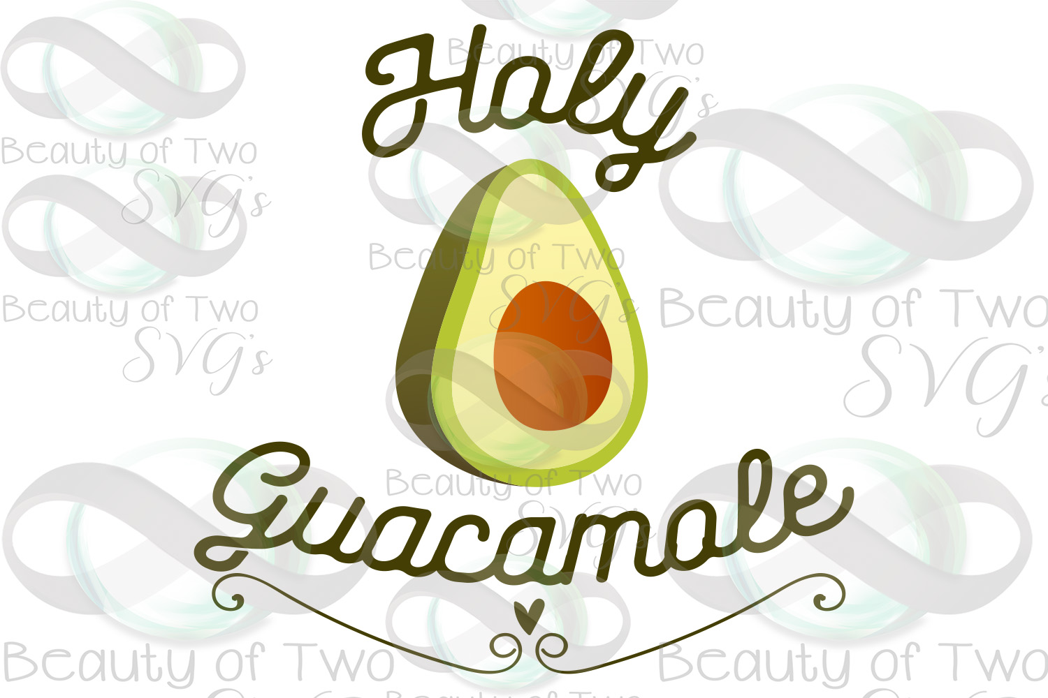 Holy Guacamole svg & png, Cinco de Mayo svg, Avocado svg example image 3