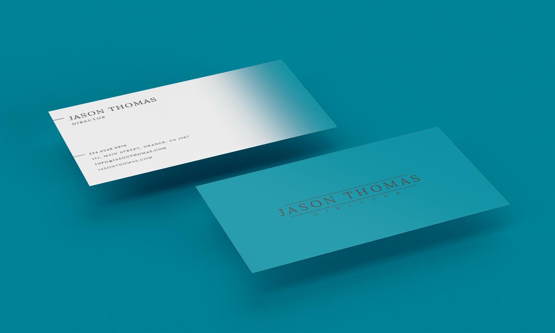 Bright Colour Beautiful Elegant Business Card 5 example image 1