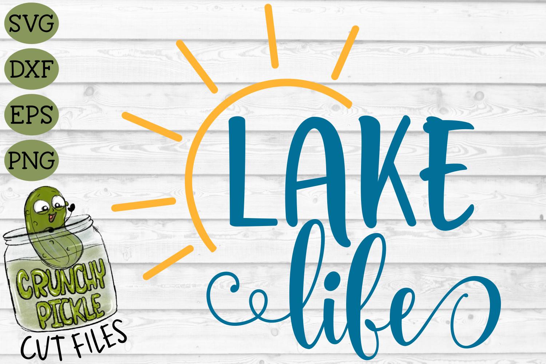 Lake Life Sun SVG example image 2