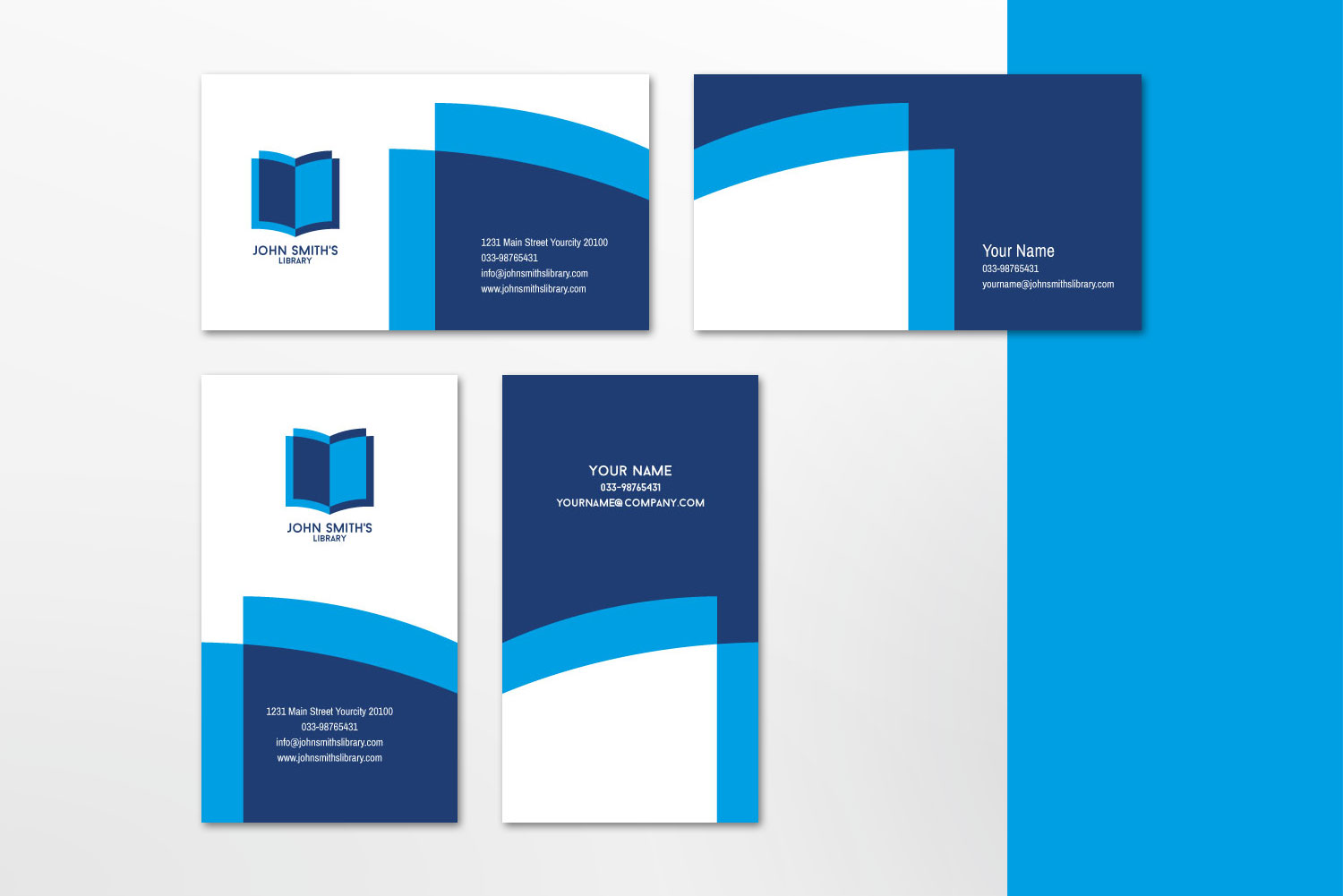 $10 for 5 - Business Card 01 example image 5