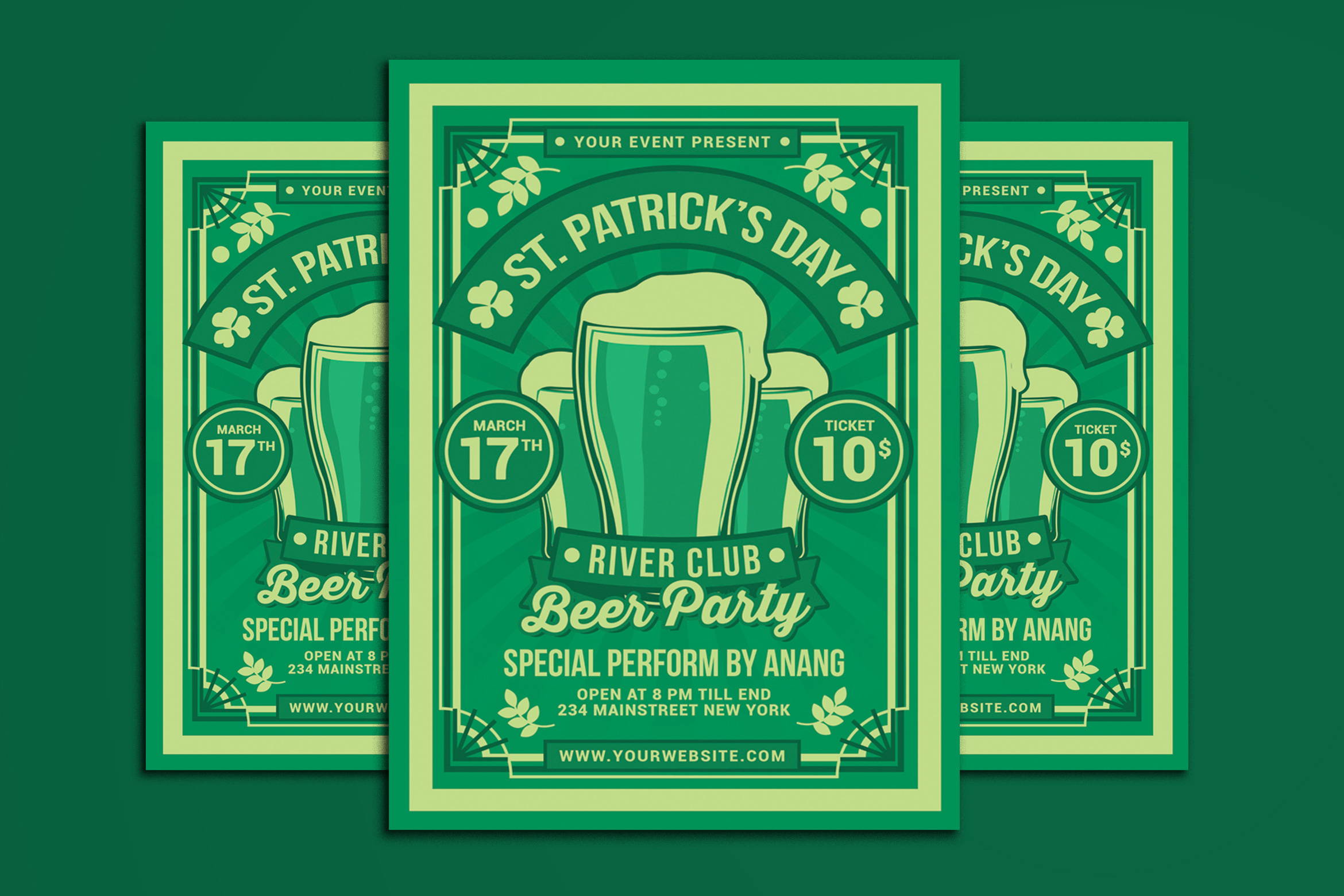 St. Patrick Day Beer Party example image 1