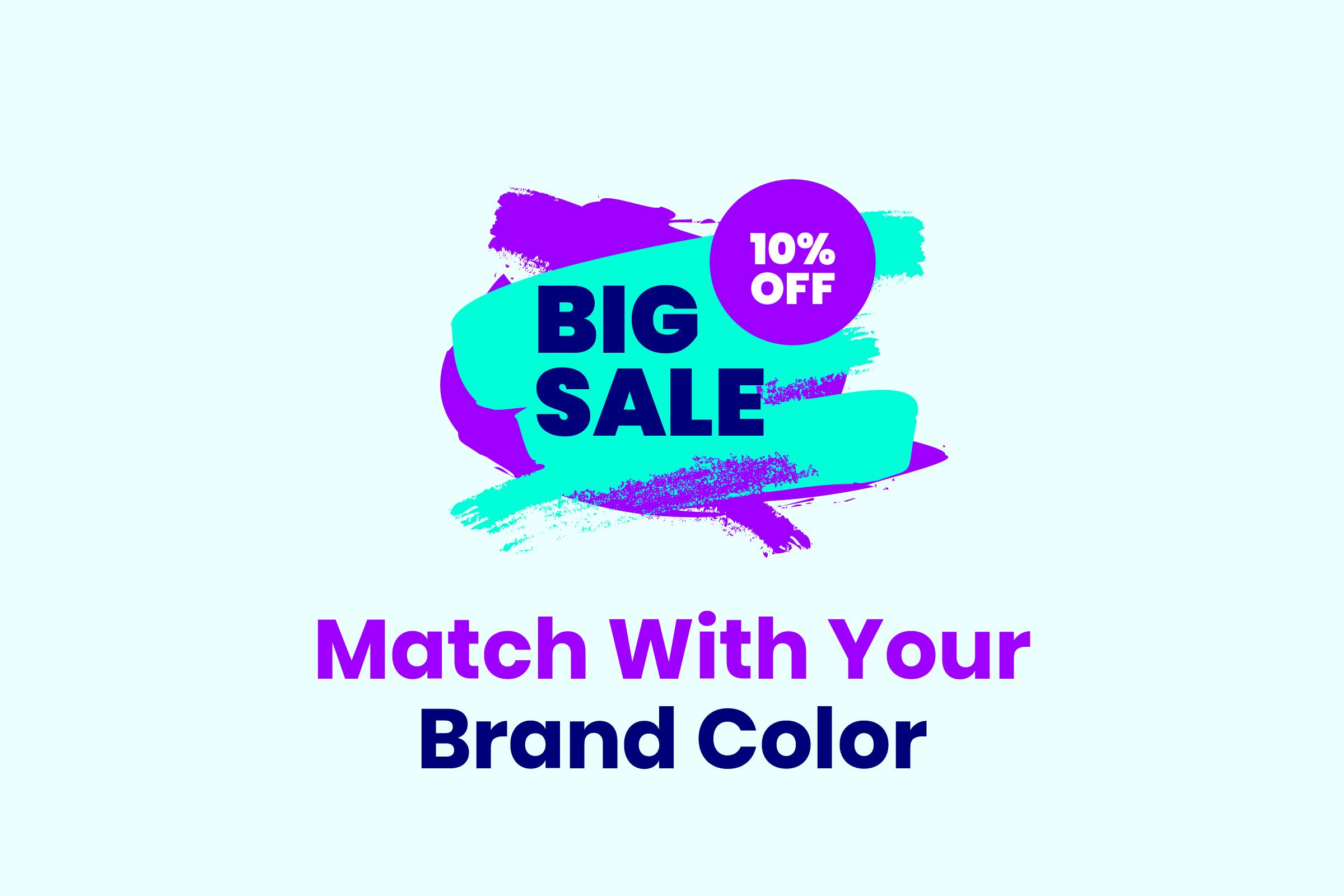 Modern Grunge Sale Price Marketing Graphics example image 3