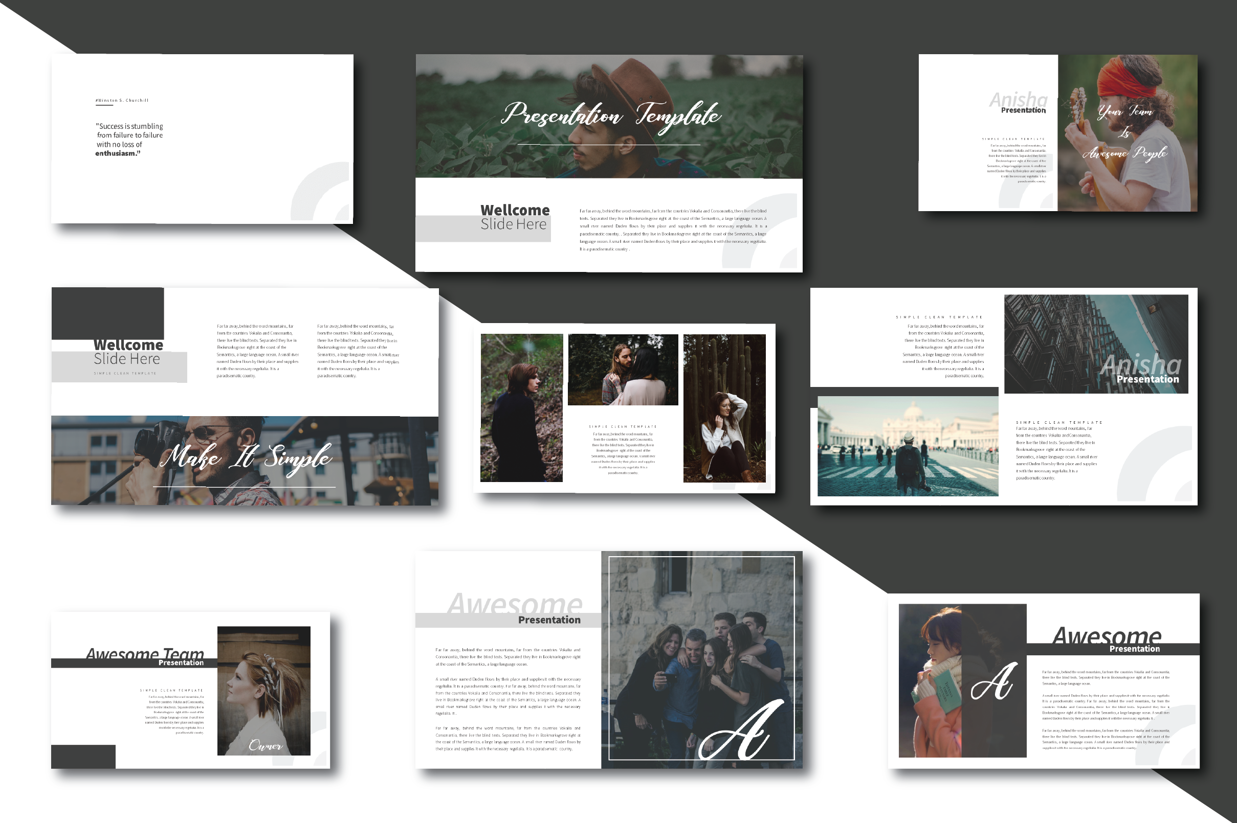 Anisha Simple Clean Template example image 4