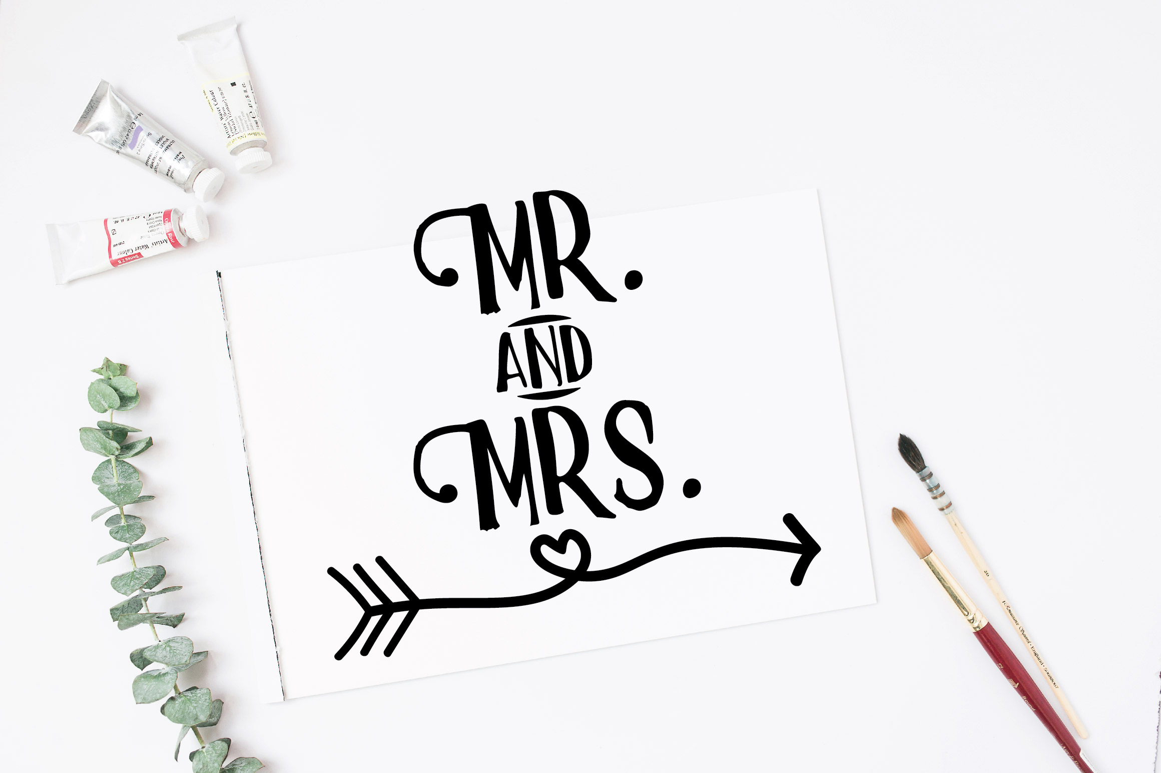 Wedding Signs SVG Cut Files example image 2