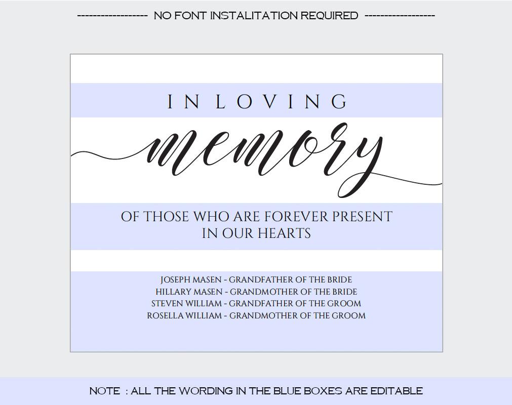 In loving memory example image 3