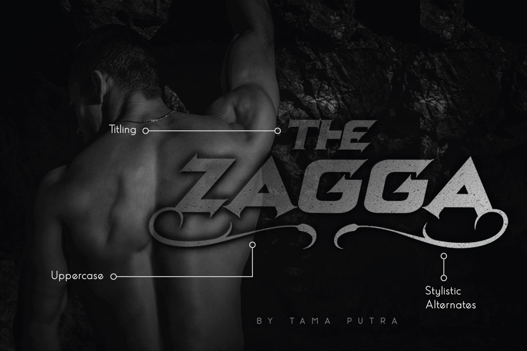 Zagga Decorative Display Typeface example image 1