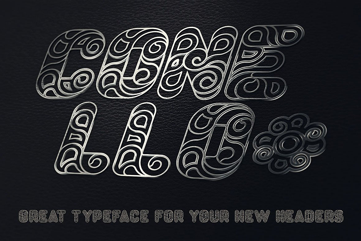 Conello - Display Font example image 3