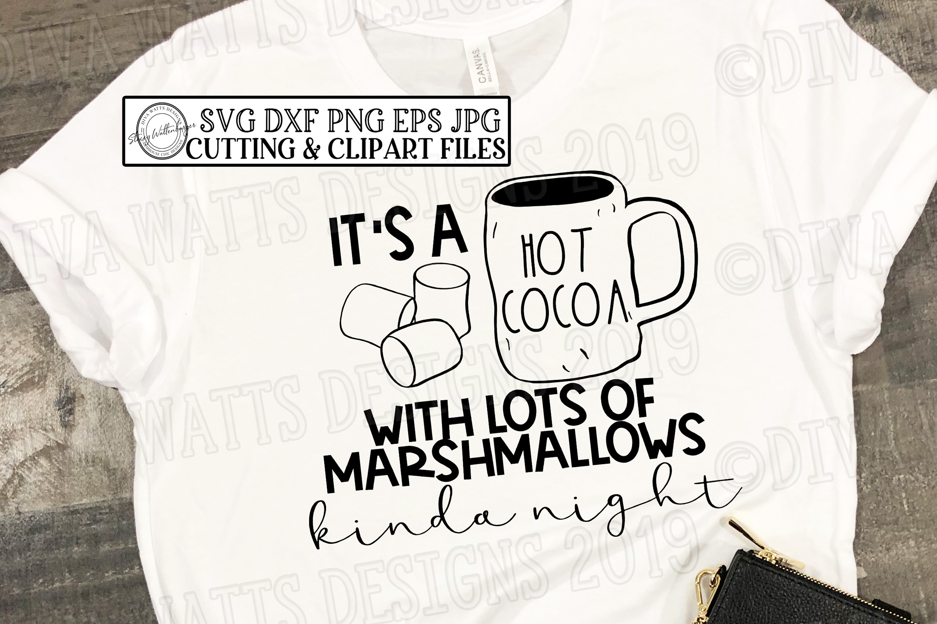It's a Hot Cocoa with Lots of Marshmallows Kinda Night example image 3