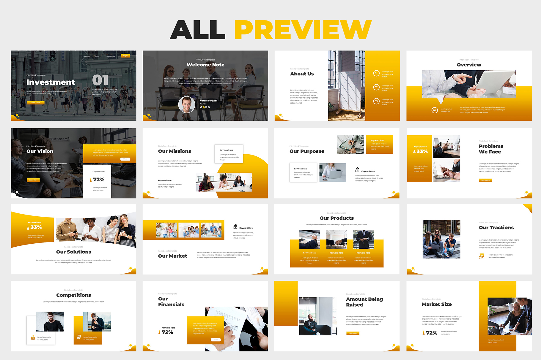 Investment Pitch Deck Google Slides example image 5