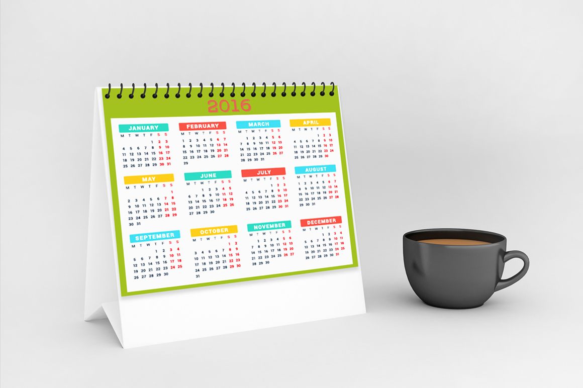Calendar Mock-up V1 example image 2