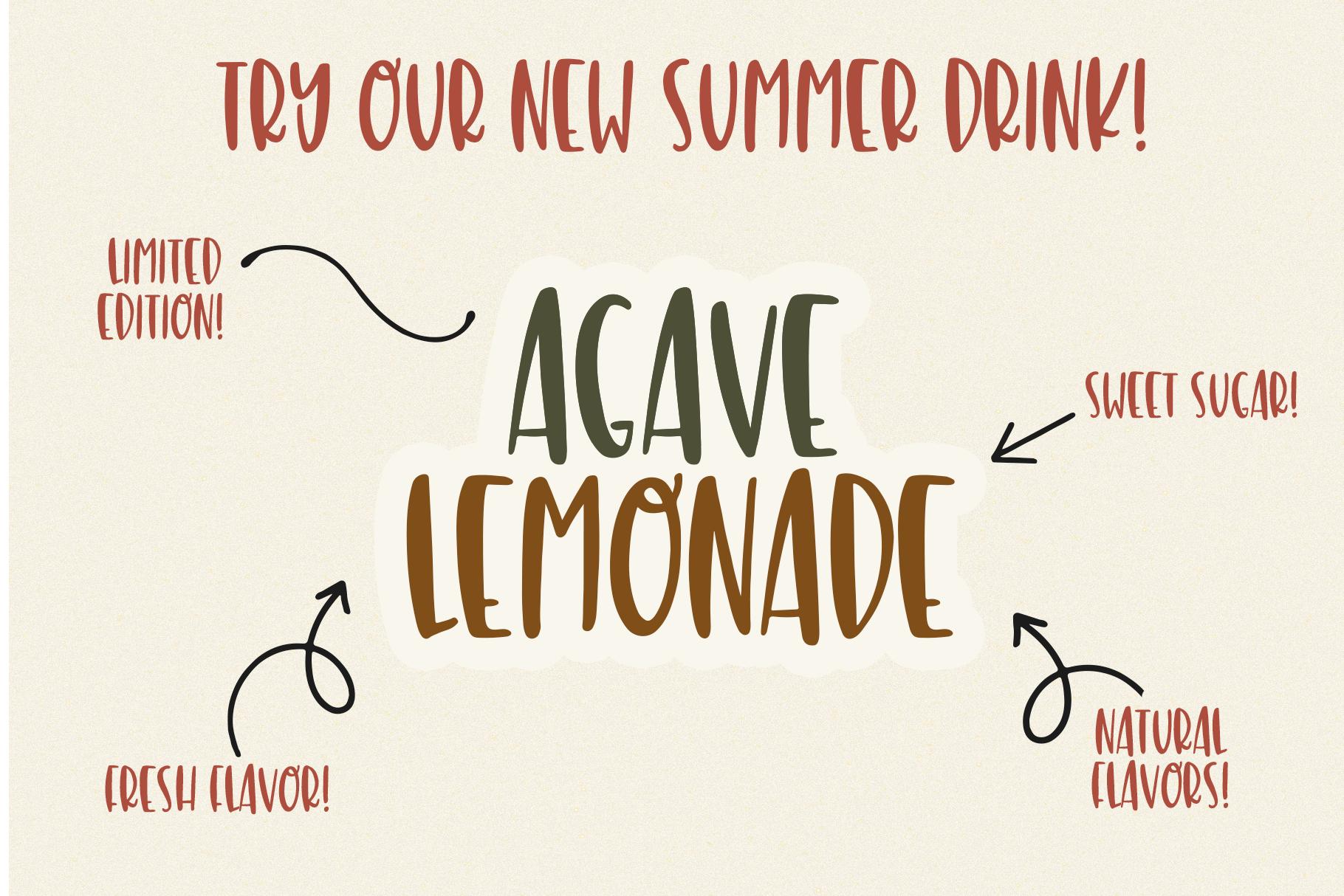 Lemon Cookies - A Fun Handwritten Font example image 11