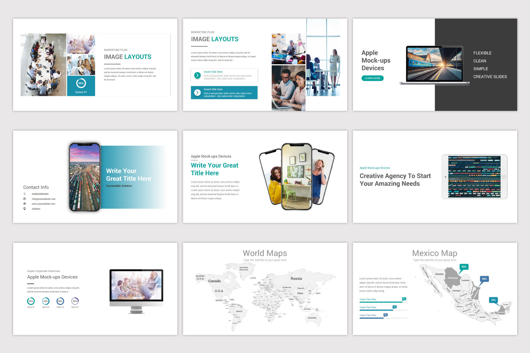 Business Plan Keynote Template example image 16