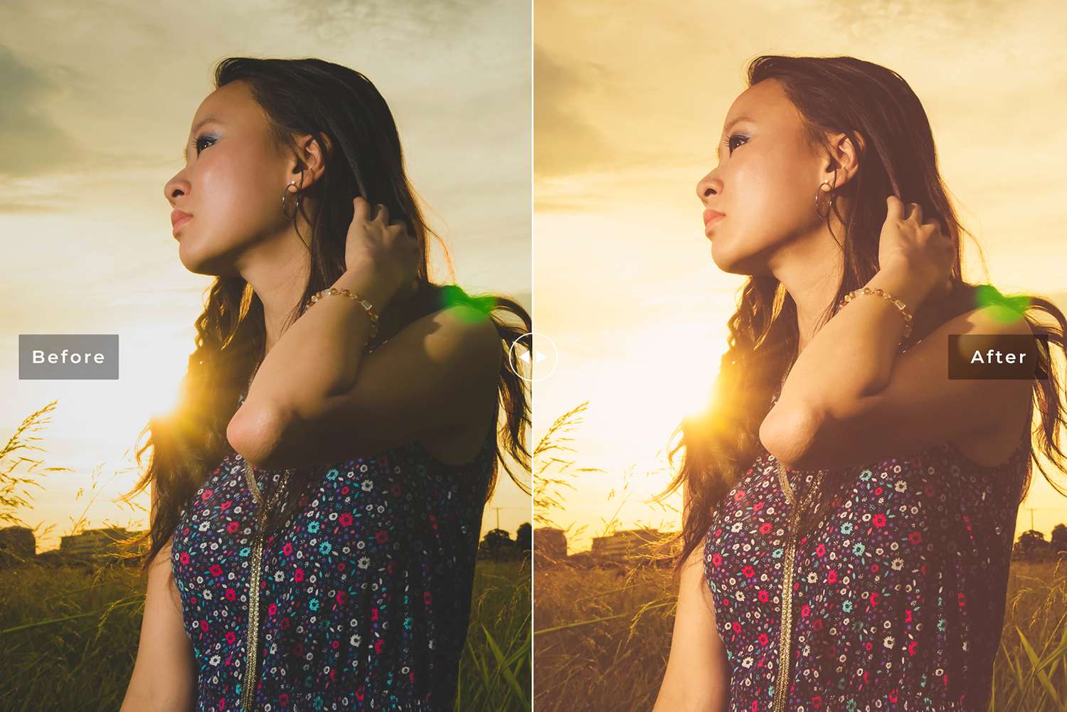 Sunlight Mobile and Desktop Lightroom Presets Pack example image 2