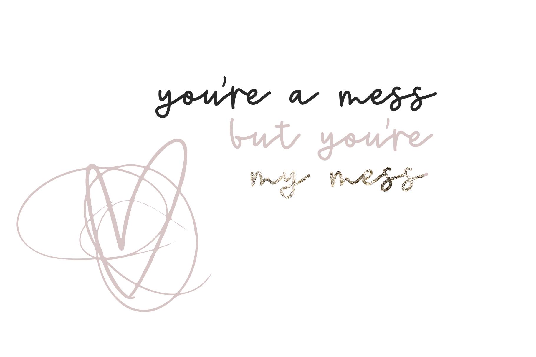 Sweetheart - A Handwritten Script Font & Doodles example image 8