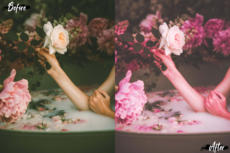 Neo Pink Scent Theme Desktop Lightroom Presets example image 3