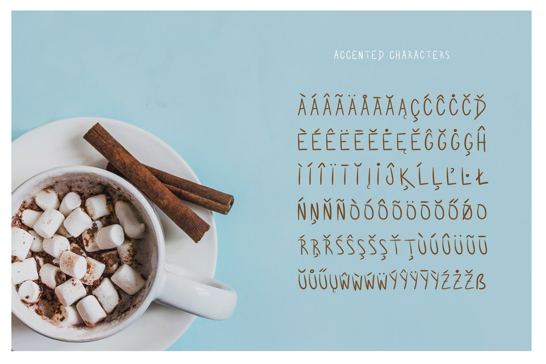 Hot Chocolate Handwritten Font example image 3