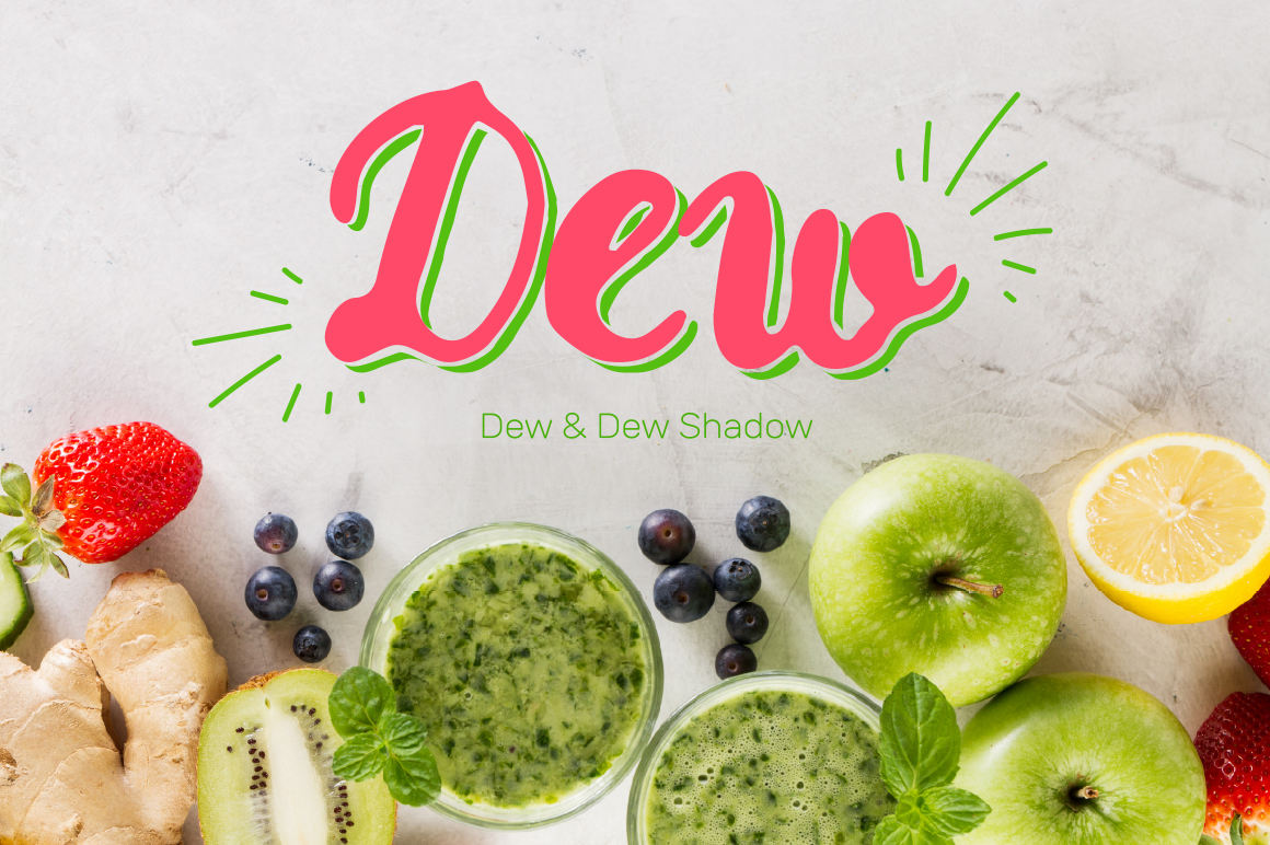 Dew & Dew Shadow example image 1