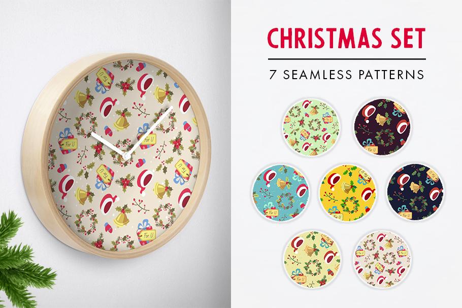 FINAL SALE!  Christmas patterns bundle example image 6