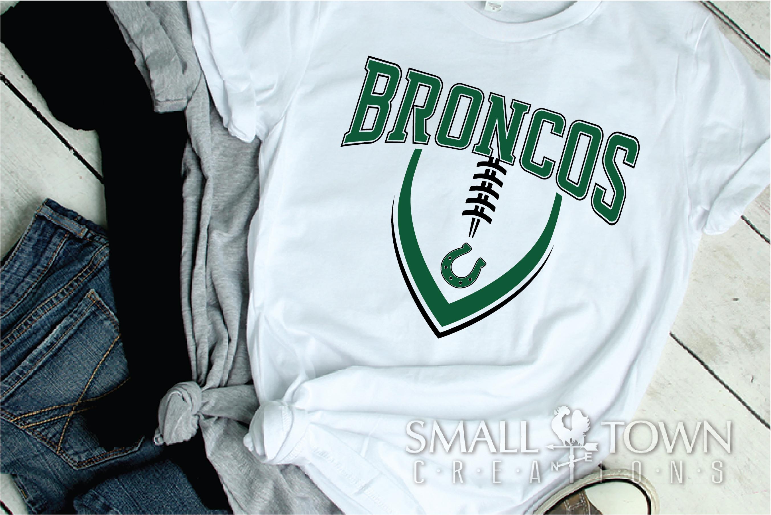 Bronco, Broncos Football, Team, Sport, PRINT, CUT & DESIGN example image 2
